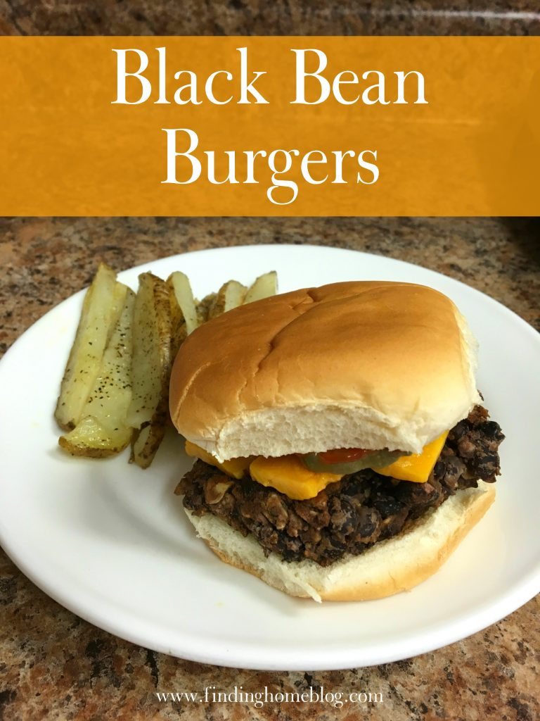 Black Bean Burgers | Finding Home Blog