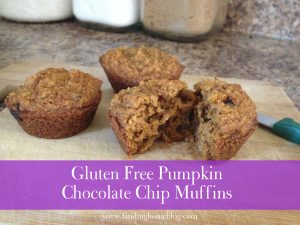 Recipe: Gluten Free Pumpkin Chocolate Chip Muffins
