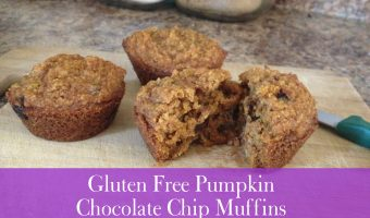 Recipe: Gluten-Free Pumpkin Chocolate Chip Muffins