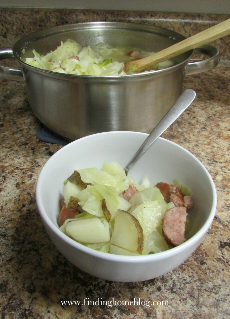 Polish Sausage Stew | Finding Home Blog