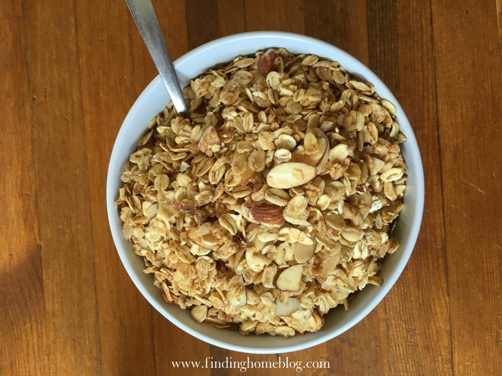 Homemade Granola | Finding Home Blog
