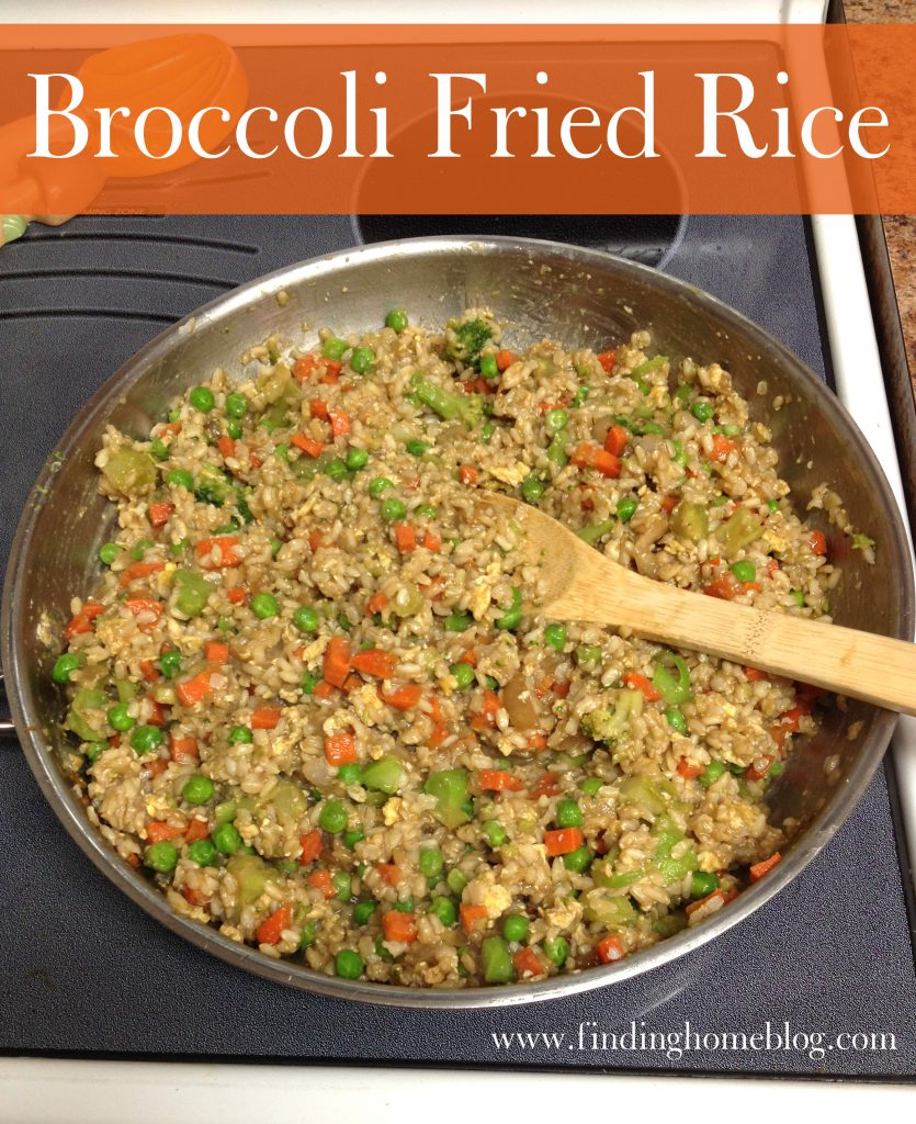 Broccoli Fried Rice   Finding Home Blog