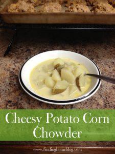 Recipe: Cheesy Potato Corn Chowder