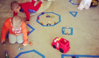 Homeschool: Learning Shapes And Counting