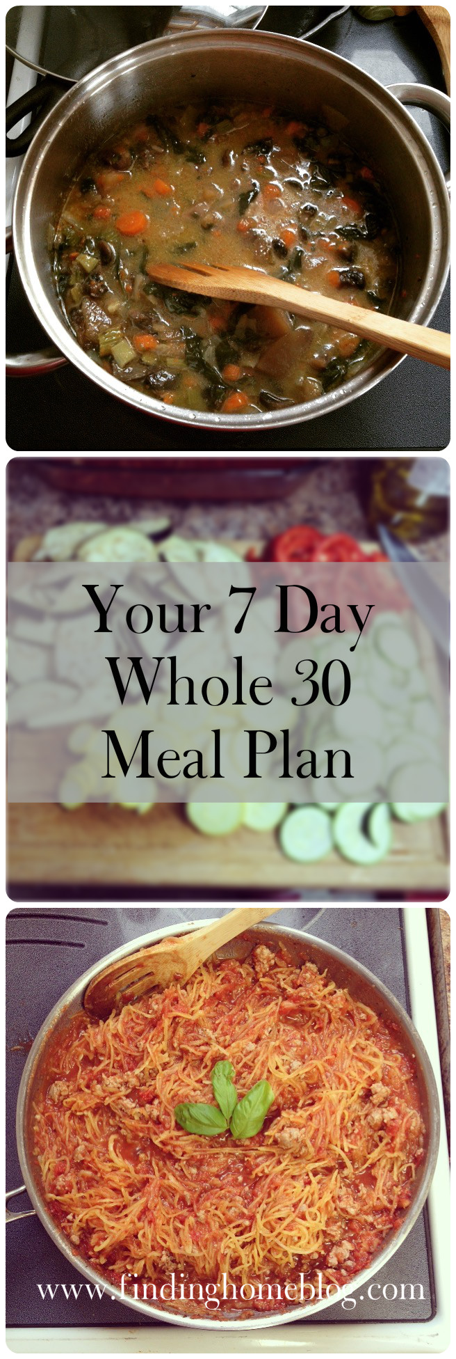 Whole 30 Menu Plan #1