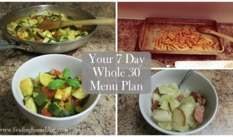 Whole 30 Menu Plan #2