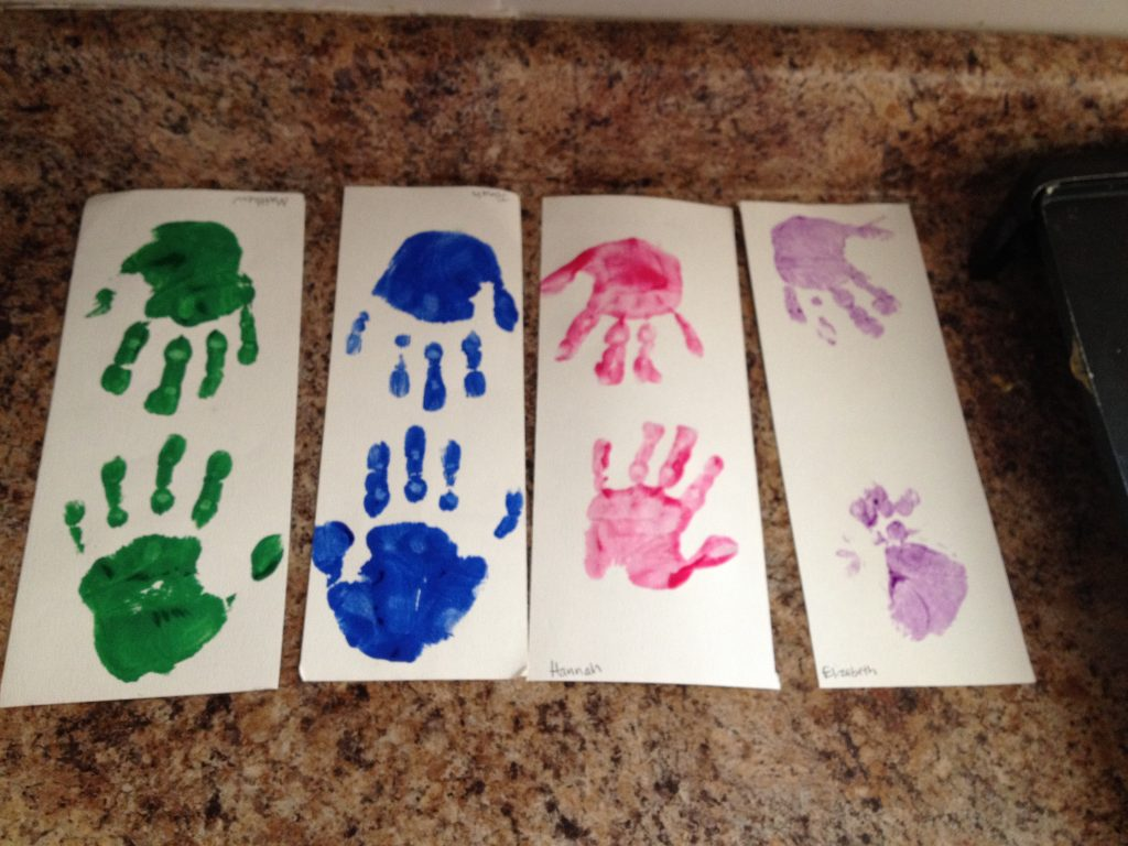 Kid Handprints | Finding Home Blog
