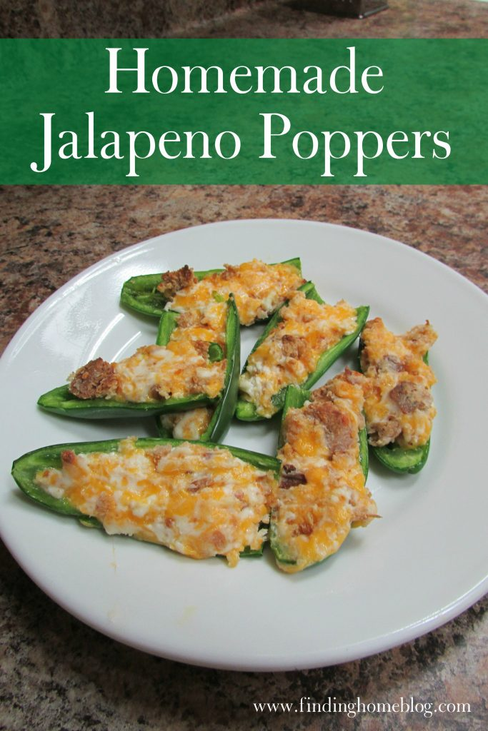 Jalapeno Poppers | Finding Home Blog