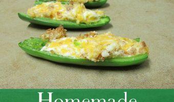 Recipe: Homemade Jalapeno Poppers