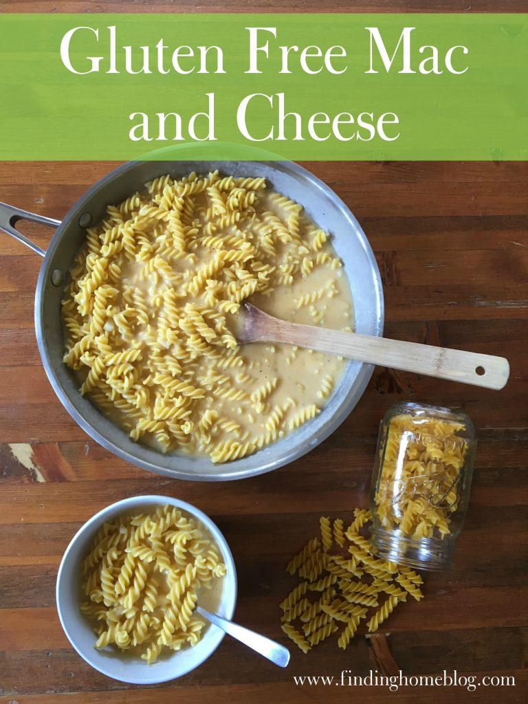 Gluten Free Mac and Cheese | Finding Home Blog