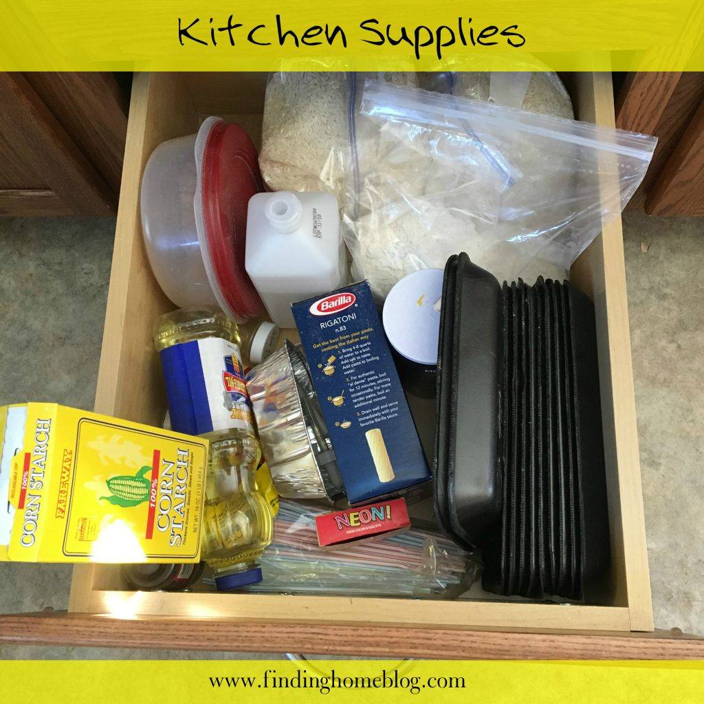 Kitchen Supplies | Finding Home Blog