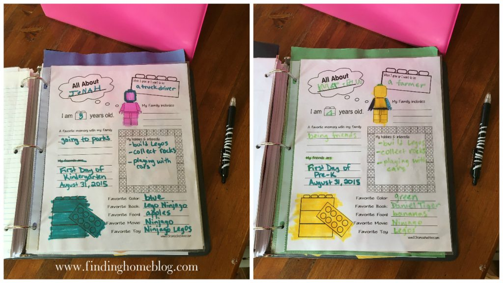 My Binder System for Homeschool Planning | Finding Home Blog