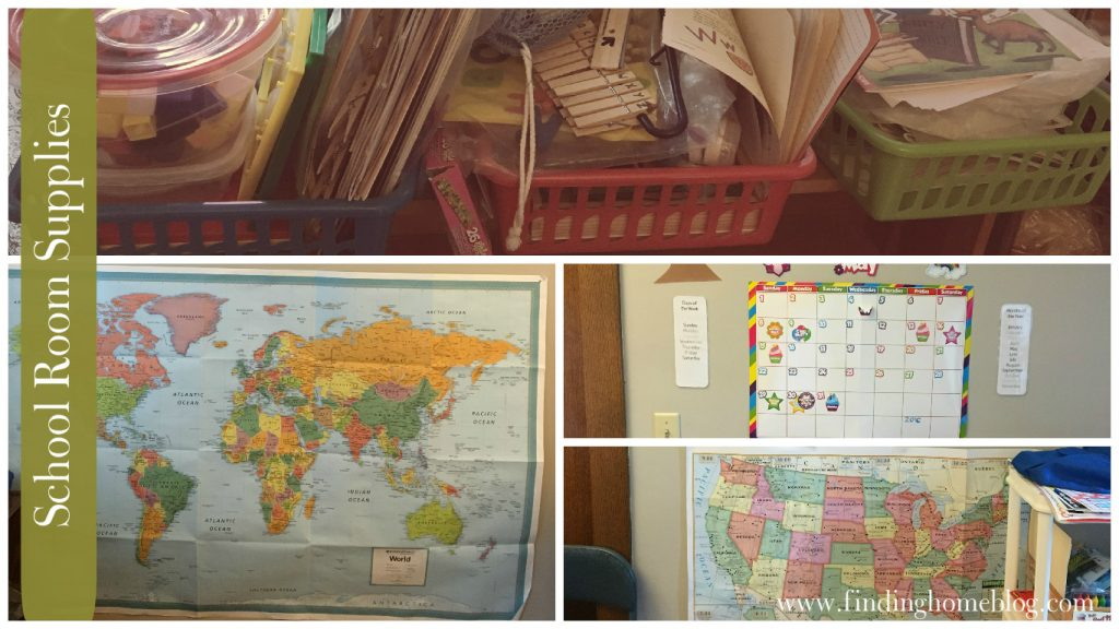 School Room Supplies | Finding Home Blog