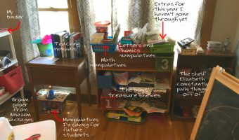 My Homeschool Storage Systems