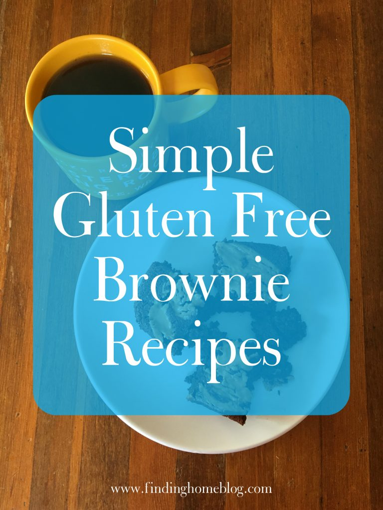 Simple Gluten Free Brownie Recipes | Finding Home Blog
