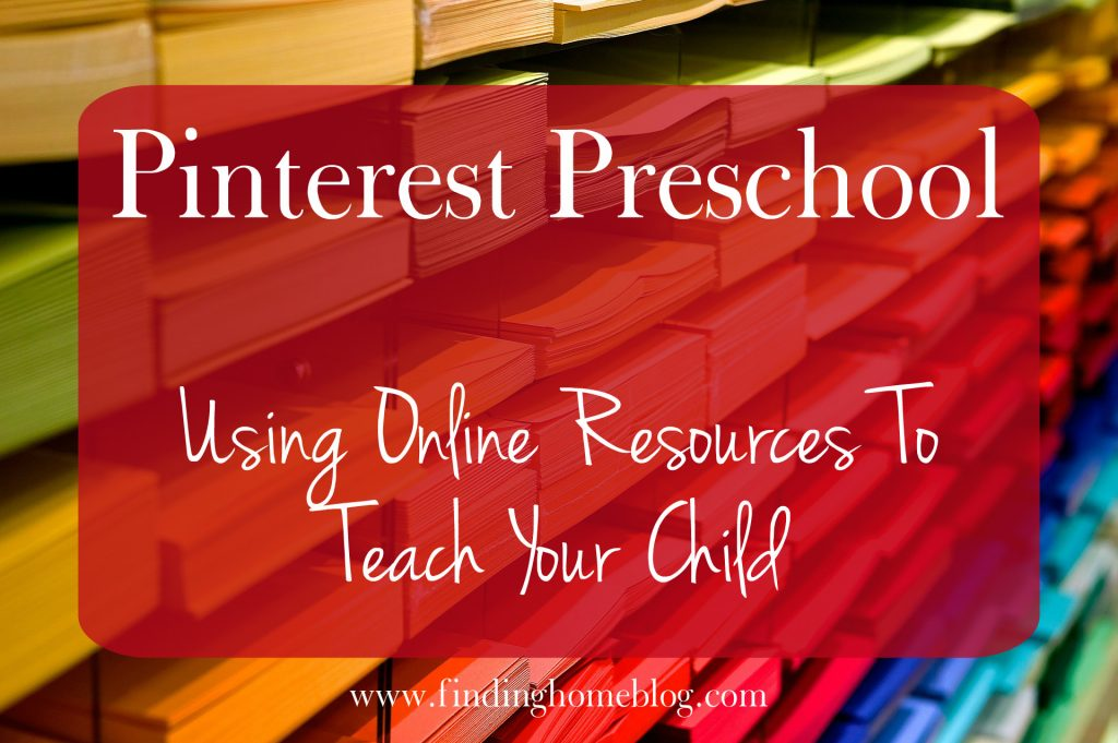 Pinterest Preschool | Finding Home Blog