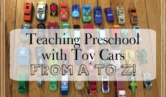 Teaching Preschool With Toy Cars (from A to Z)