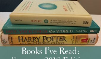 Books I've Read: Summer 2016