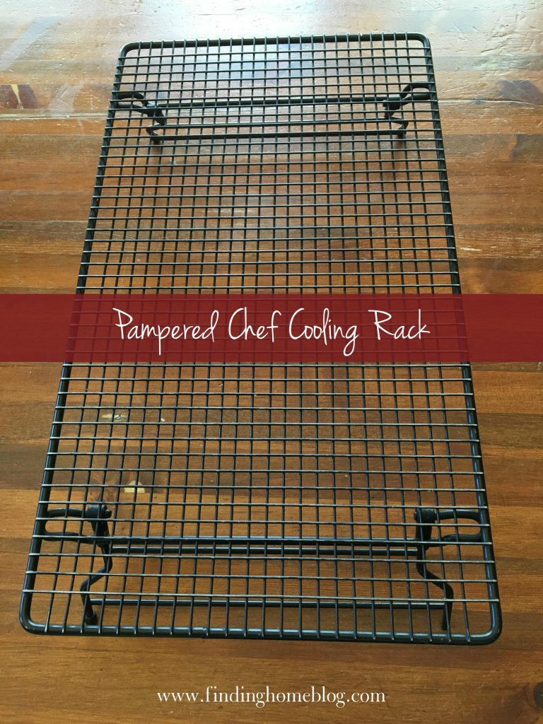 Pampered Chef Cooling Rack | Finding Home Blog