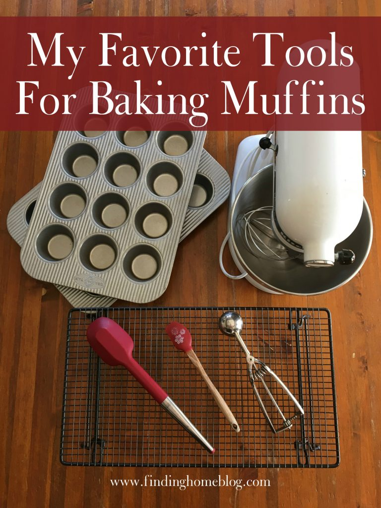 My Favorite Kitchen Tools For Baking Muffins | Finding Home Blog
