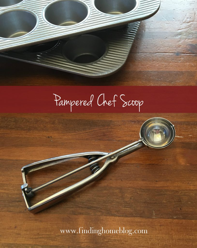 Pampered Chef Scoop | Finding Home Blog
