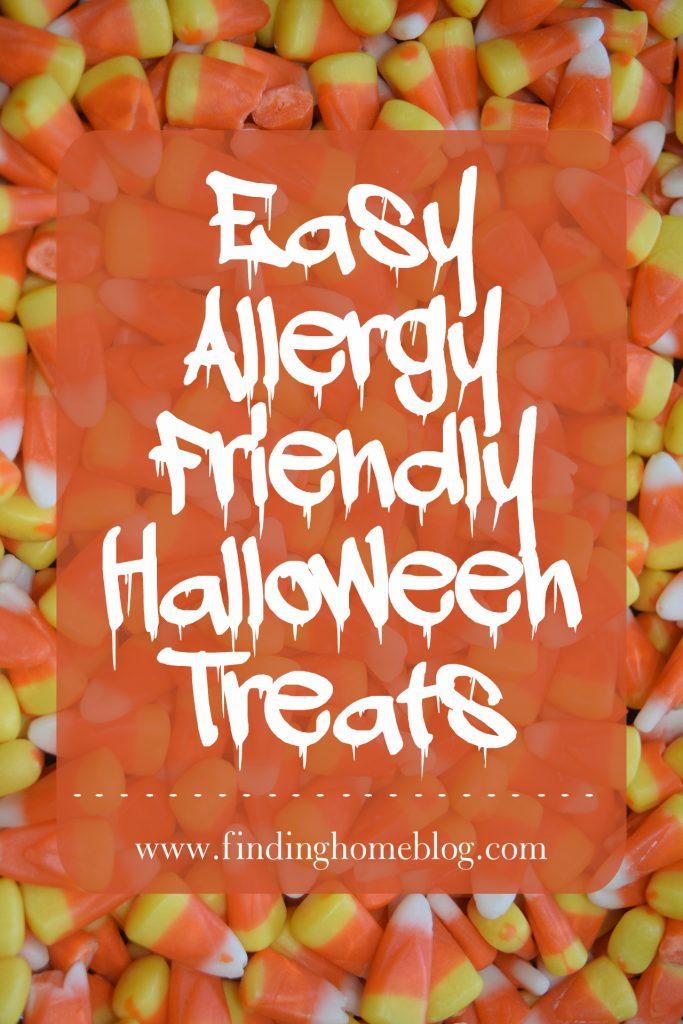 Easy Allergy Friendly Halloween Treats