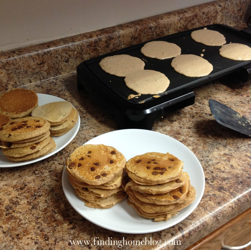 Pancakes 2 Ways | Finding Home Blog