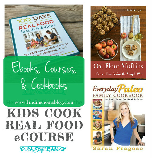 Ebooks, Courses, and Cookbooks | Finding Home Blog