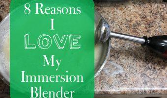 8 Reasons I Love My Immersion Blender