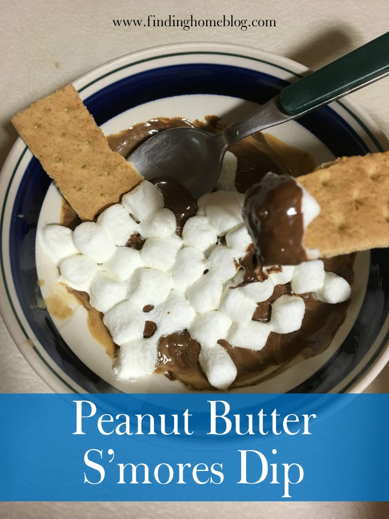 Peanut Butter S'mores Dip   Finding Home Blog