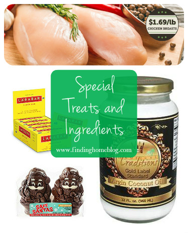 Special Treats and Ingredients | Finding Home Blog