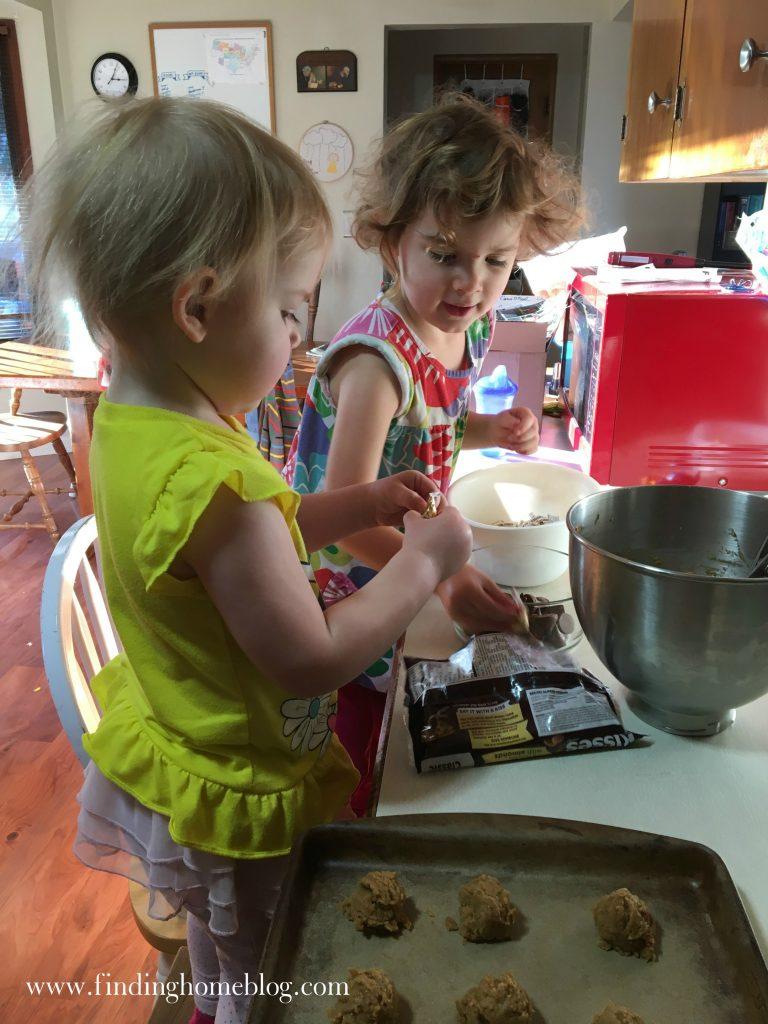 Gluten Free Peanut Butter Kiss Cookies   Finding Home Blog