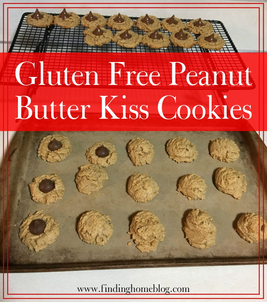 Gluten Free Peanut Butter Kiss Cookies | Finding Home Blog