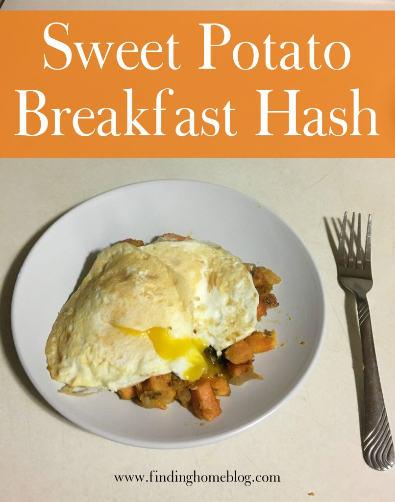 Sweet Potato Breakfast Hash | Finding Home Blog