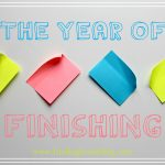 2017: The Year of Finishing