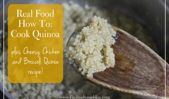 Real Food How To: Cook Quinoa