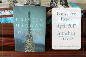 Books I've Read: April 2017 (Armchair Travels)