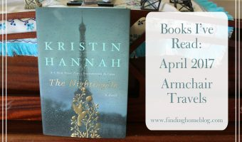 Books I've Read: April 2017 (Armchair Travels)