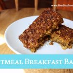 Oatmeal Breakfast Bars