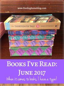 Books I've Read: June 2017