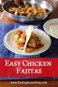Recipe: Chicken Fajitas