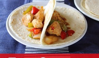 Recipe: Chicken Fajitas