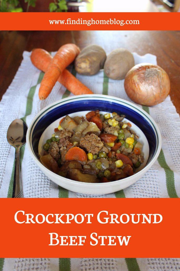 Recipe Crockpot Ground Beef Stew