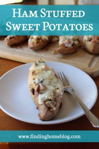 Recipe: Ham Stuffed Sweet Potatoes