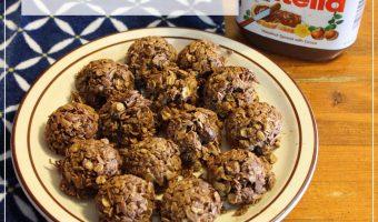 Recipe: Nutella Coconut Energy Bites