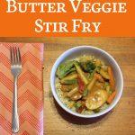Recipe: Peanut Butter Veggie Stir Fry