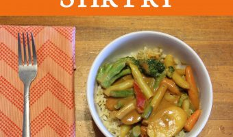 Recipe: Peanut Butter Veggie Stir Fry