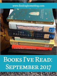 Books I've Read: September 2017