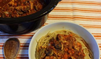 Recipe: Crockpot Chicken Cacciatore