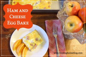 Recipe: Ham and Cheese Egg Bake
